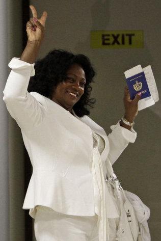 La líder de las Damas de Blanco llega este lunes a Madrid en su primer viaje fuera de Cuba